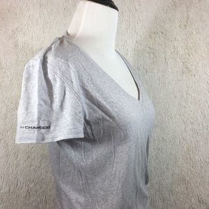 Under Armour Charged Fitted Heatgear Tee Medium